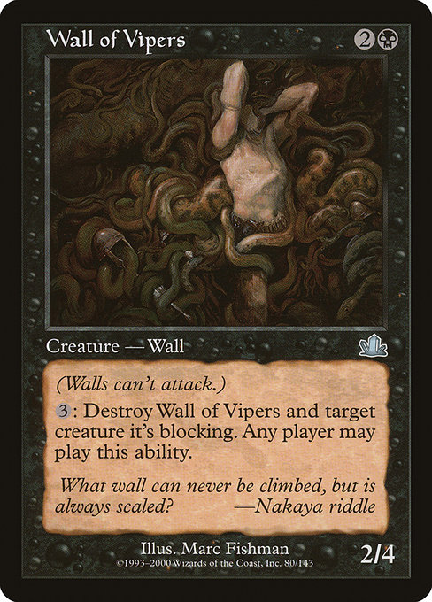 Wall of Vipers (PCY)