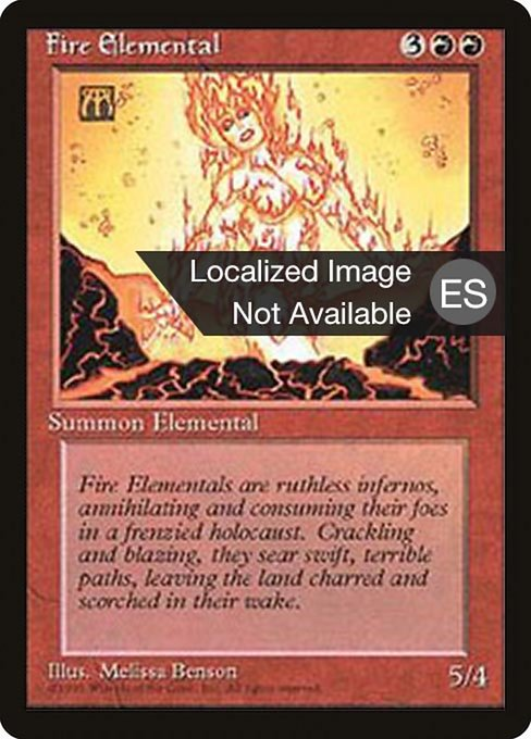 Fire Elemental (4BB)