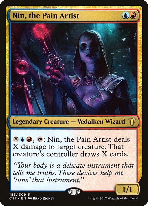 Nin, the Pain Artist (C17)
