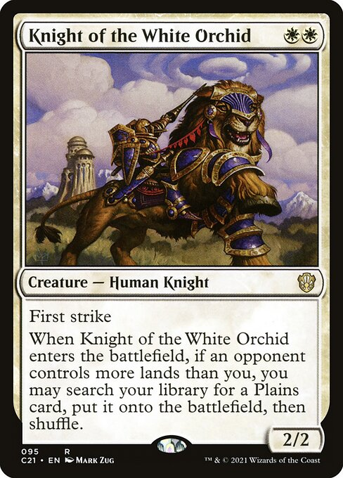 Knight of the White Orchid (C21)