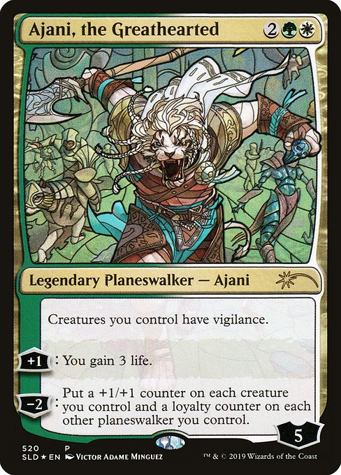 Ajani, the Greathearted (SLD)