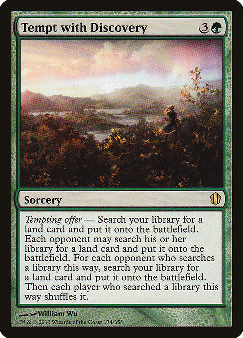 Tempt with Discovery (C13)