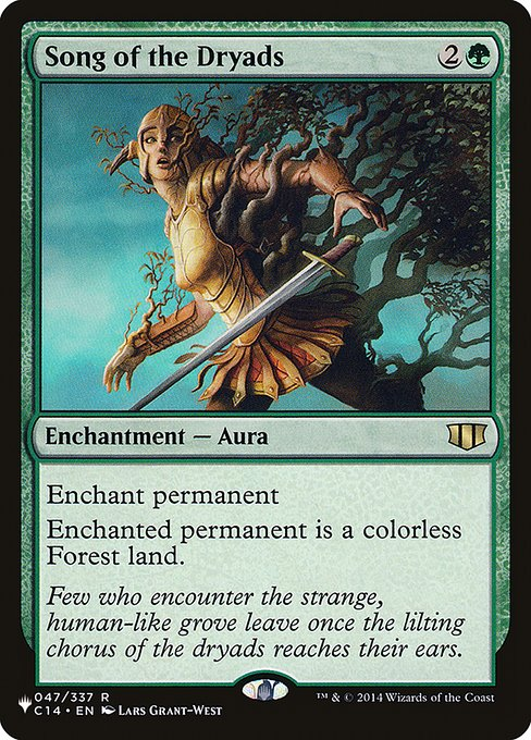 Song of the Dryads (PLIST)