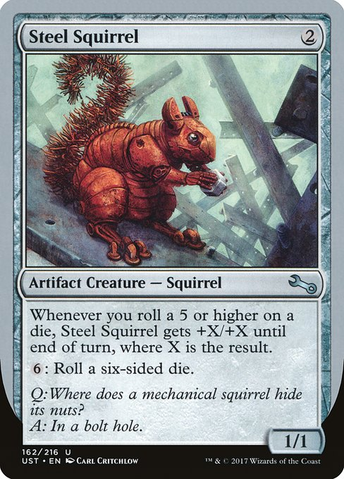 Steel Squirrel (UST)