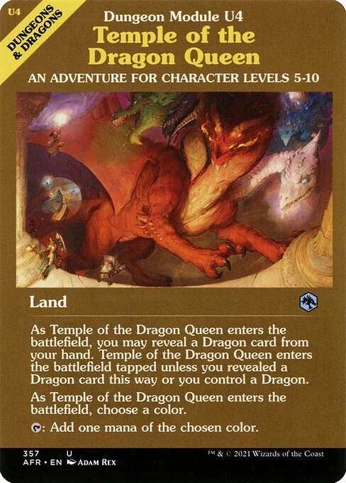 Temple of the Dragon Queen (AFR)