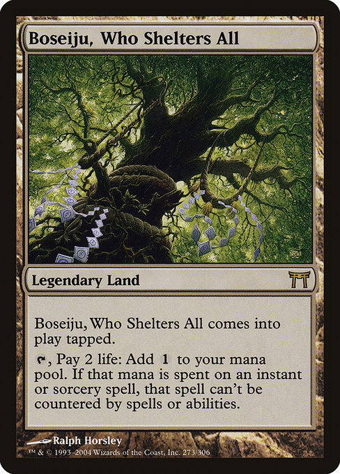 Boseiju, Who Shelters All (CHK)