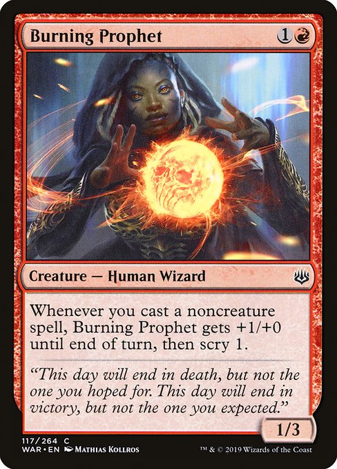 Burning Prophet (WAR)