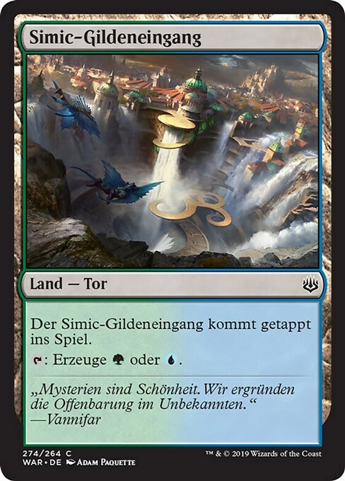 Simic Guildgate (WAR)