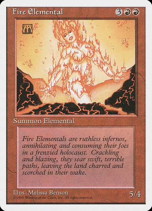 Fire Elemental (4ED)