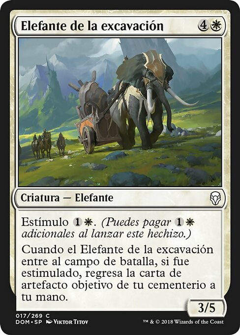 Excavation Elephant (DOM)