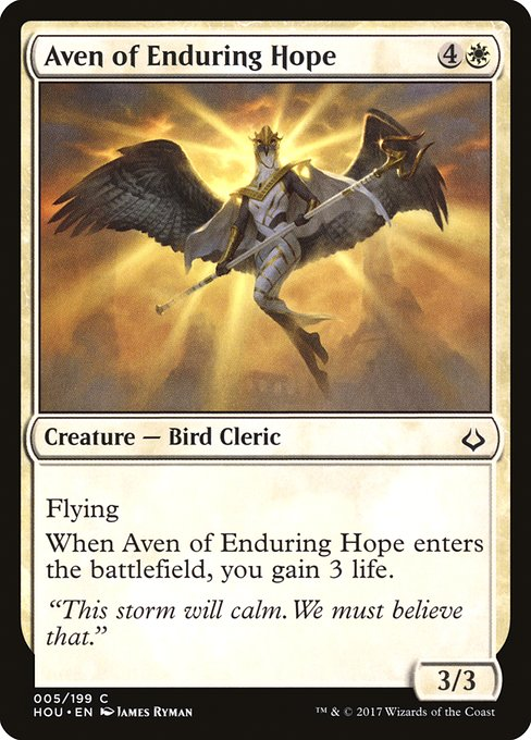 Aven of Enduring Hope (HOU)