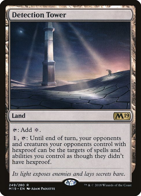 Detection Tower (M19)