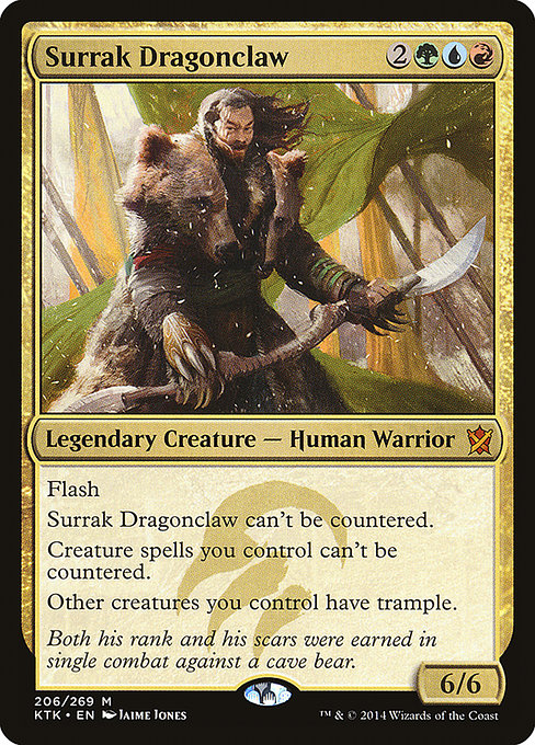 EDHREC - Surrak Dragonclaw (Commander)