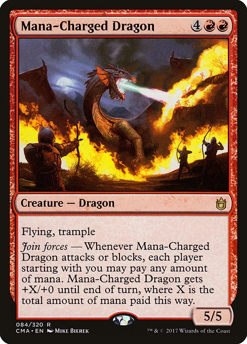 Mana-Charged Dragon (CMA)