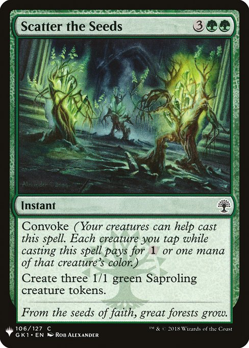 Scatter the Seeds (MB1)