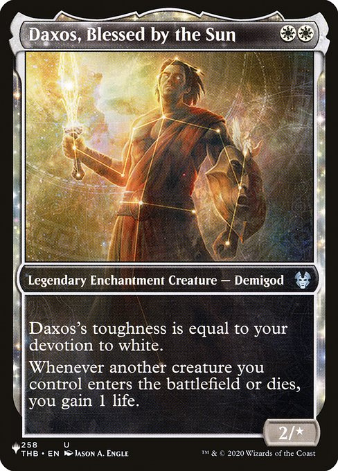 Daxos, Blessed by the Sun (PLIST)