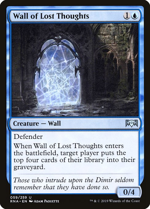 Wall of Lost Thoughts (RNA)