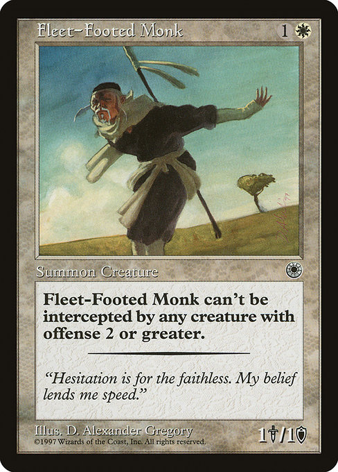 Fleet-Footed Monk (POR)