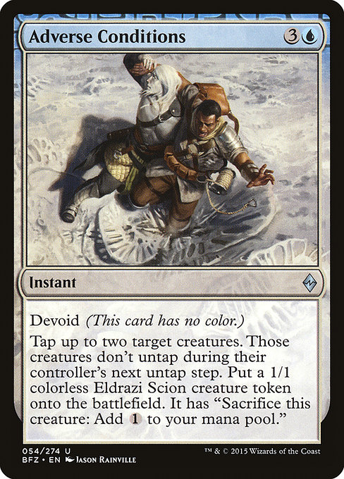Adverse Conditions (BFZ)