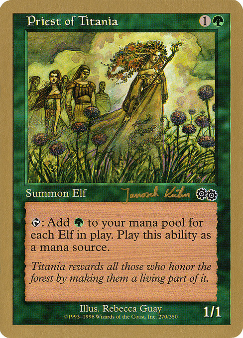 Priest of Titania (WC00)