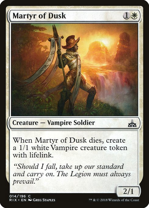 Martyr of Dusk (RIX)