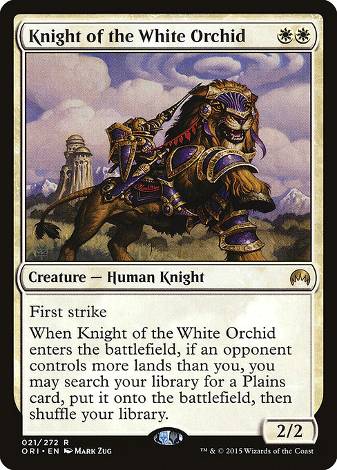 Knight of the White Orchid (ORI)