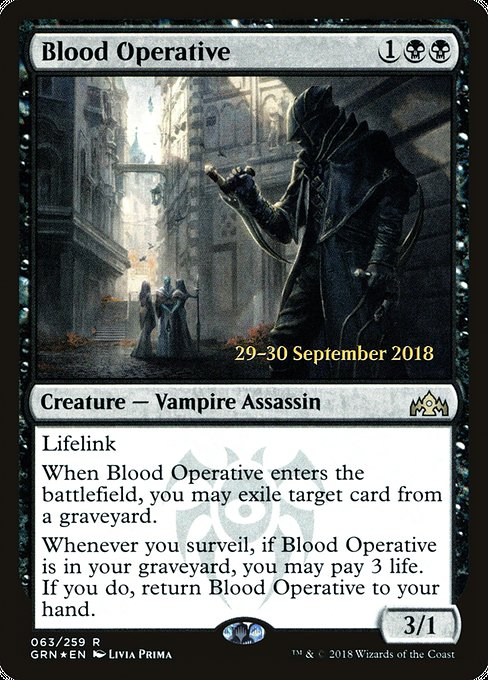 Blood Operative (PGRN)