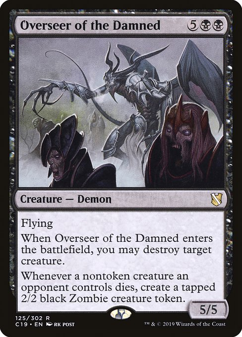 Overseer of the Damned (C19)