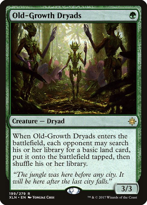 Old-Growth Dryads (XLN)