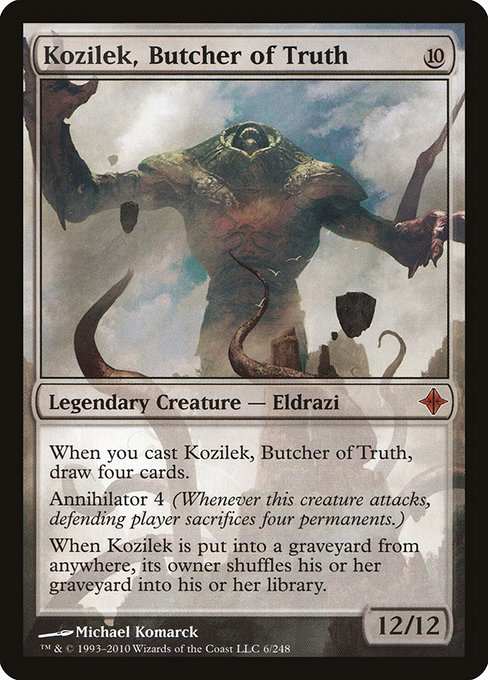 Kozilek, Butcher of Truth (ROE)
