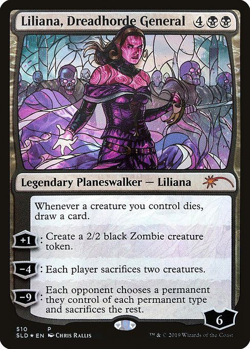 Liliana, Dreadhorde General (SLD)