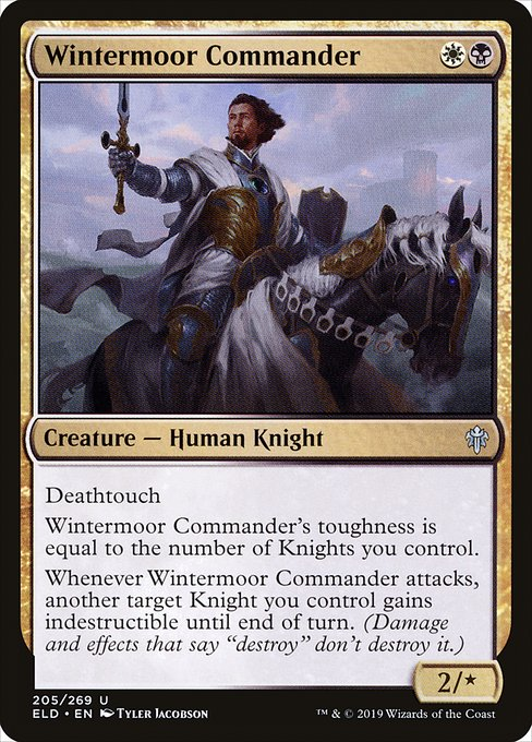 Wintermoor Commander (ELD)