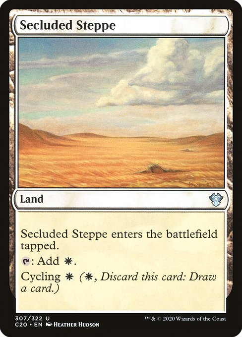 Secluded Steppe (C20)
