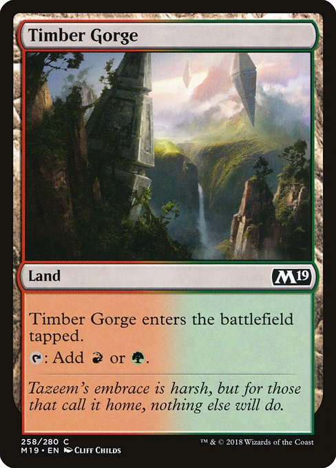 Timber Gorge (M19)