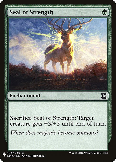 Seal of Strength (MB1)