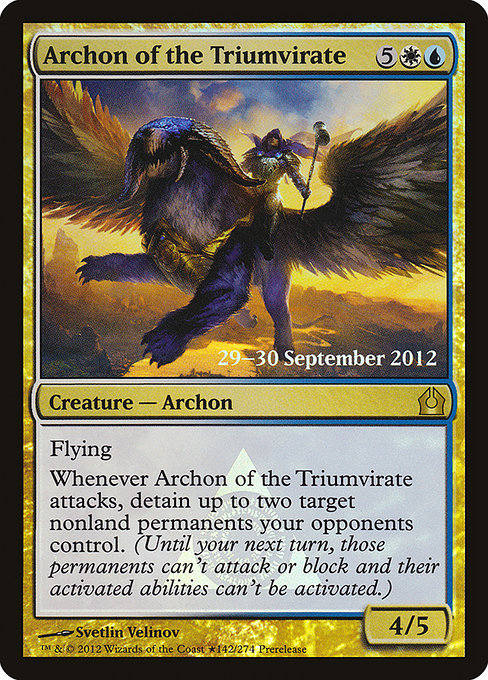 Archon of the Triumvirate (PRTR)