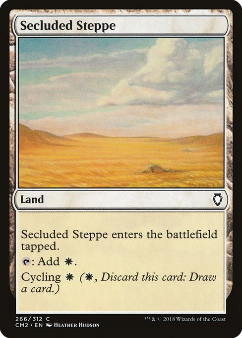 Secluded Steppe (CM2)