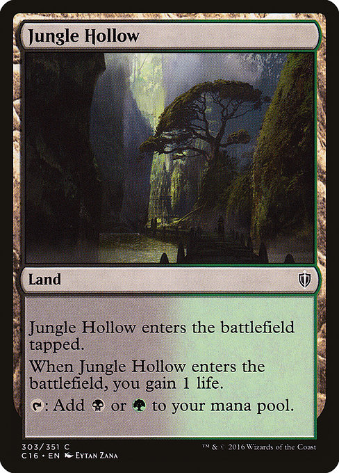 Jungle Hollow (C16)