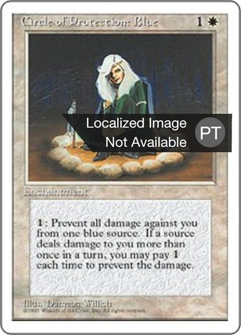 Circle of Protection: Blue (4ED)