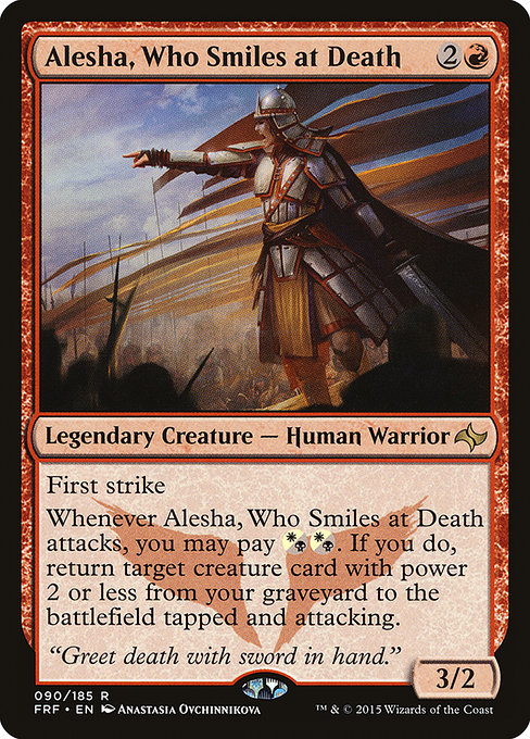 Alesha, Who Smiles at Death (FRF)