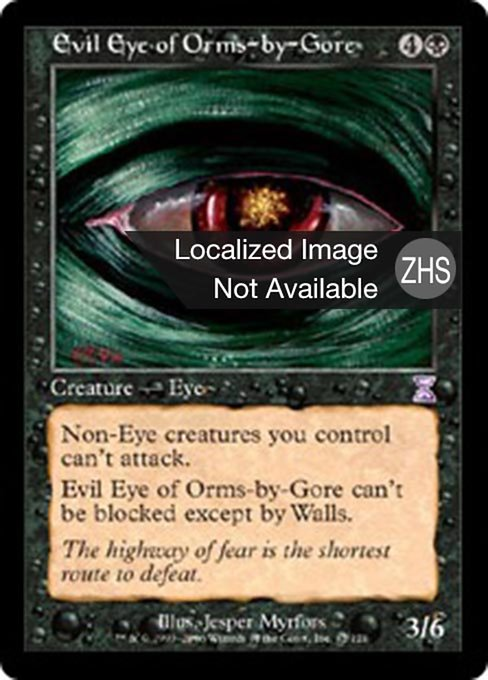 Evil Eye of Orms-by-Gore (TSB)
