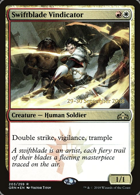 Swiftblade Vindicator (PGRN)