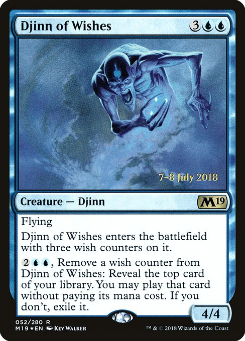 Djinn of Wishes (PM19)