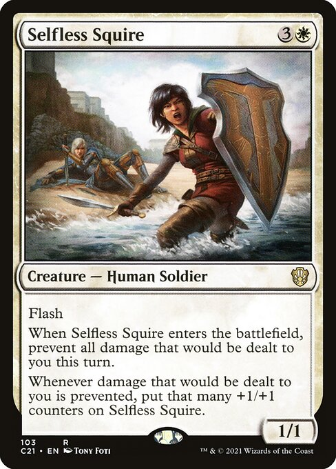 Selfless Squire (C21)