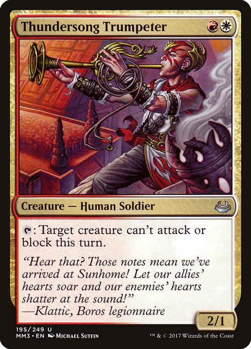 Thundersong Trumpeter (MM3)