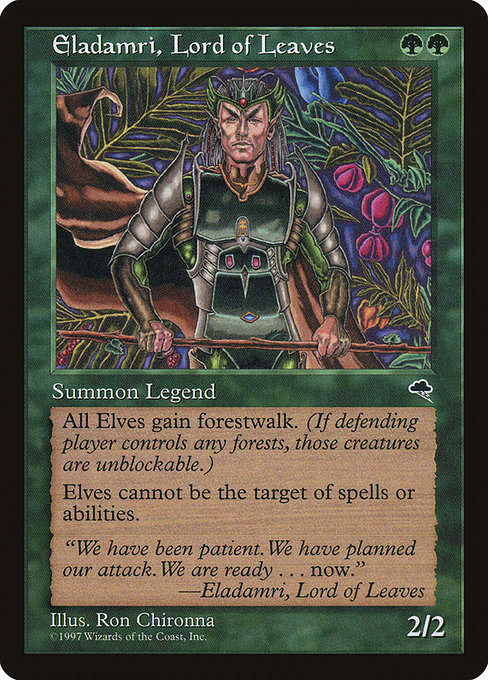 Eladamri, Lord of Leaves (TMP)
