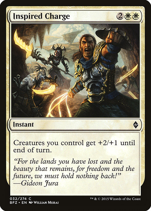 Inspired Charge (BFZ)