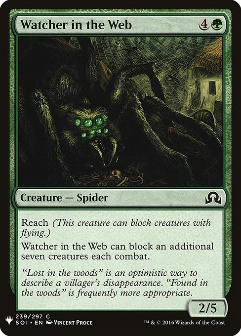 Watcher in the Web (MB1)