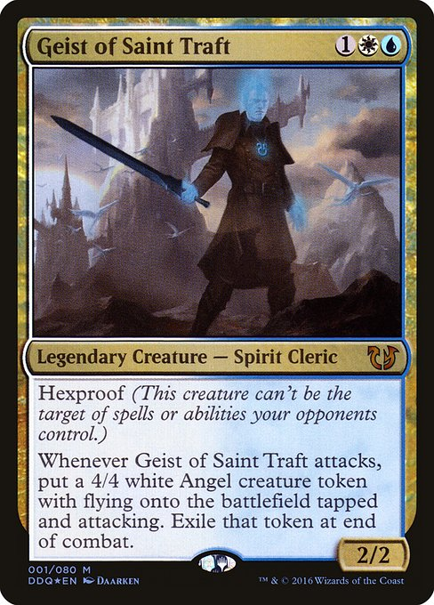 Geist of Saint Traft (DDQ)