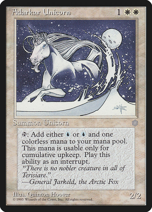 Adarkar Unicorn (ICE)